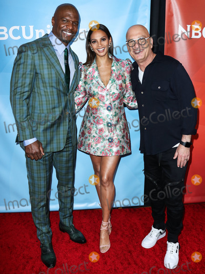 Howie Mandel Photo - PASADENA LOS ANGELES CALIFORNIA USA - JANUARY 11 Terry Crews Alesha Dixon and Howie Mandel arrive at the 2020 NBCUniversal Winter TCA Press Tour held at The Langham Huntington Hotel on January 11 2020 in Pasadena Los Angeles California United States (Photo by Xavier CollinImage Press Agency)