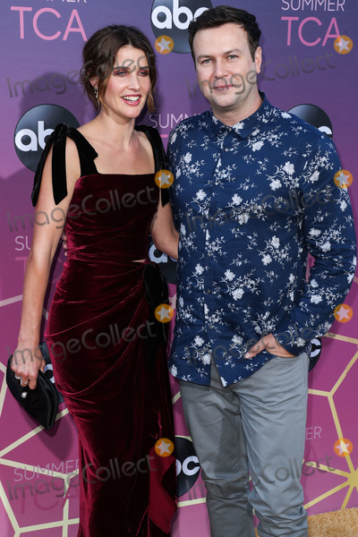 Taran Killam Photo - WEST HOLLYWOOD LOS ANGELES CALIFORNIA USA - AUGUST 05 Actress Cobie Smulders and husbandactor Taran Killam arrive at the Disney ABC Television Group TCA Summer Press Tour All-Star Party 2019 held at Soho House West Hollywood on August 5 2019 in West Hollywood Los Angeles California United States (Photo by Xavier CollinImage Press Agency)