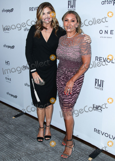 Vanessa Williams Photo - MANHATTAN NEW YORK CITY NEW YORK USA - SEPTEMBER 05 Kathy Ireland and Vanessa Williams arrive at Daily Front Rows 2019 Fashion Media Awards held at The Rainbow Room at the Rockefeller Center on September 5 2019 in Manhattan New York City New York United States (Photo by Xavier CollinImage Press Agency)