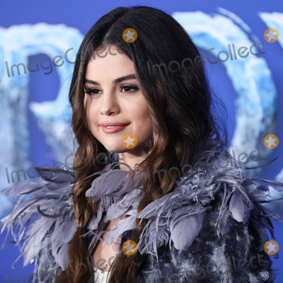 Gomez Photo - (FILE) Selena Gomez Makes Big Donation to Cedars-Sinai Amid Coronavirus COVID-19 Pandemic Health Crisis Selena Gomez is making a major donation to Cedars-Sinai HOLLYWOOD LOS ANGELES CALIFORNIA USA - NOVEMBER 07 Singer Selena Gomez wearing Marc Jacobs with Pandora jewelry arrives at the World Premiere Of Disneys Frozen 2 held at the Dolby Theatre on November 7 2019 in Hollywood Los Angeles California United States (Photo by Xavier CollinImage Press Agency)