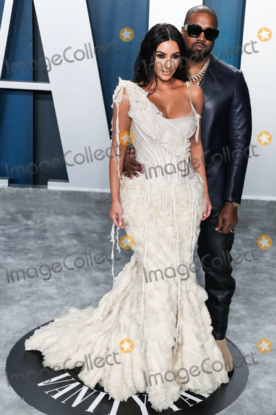 Kim Kardashian-West Photo - BEVERLY HILLS LOS ANGELES CALIFORNIA USA - FEBRUARY 09 Kim Kardashian West and Kanye West arrive at the 2020 Vanity Fair Oscar Party held at the Wallis Annenberg Center for the Performing Arts on February 9 2020 in Beverly Hills Los Angeles California United States (Photo by Xavier CollinImage Press Agency)