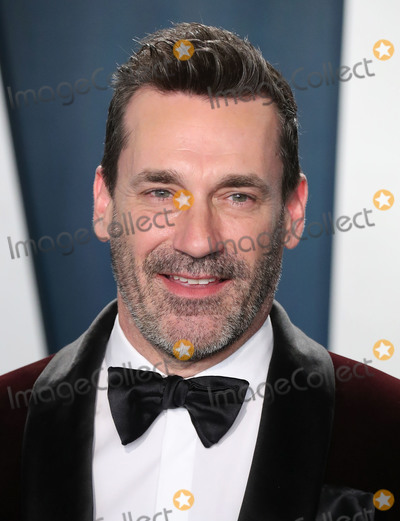 Jon Hamm Photo - BEVERLY HILLS LOS ANGELES CALIFORNIA USA - FEBRUARY 09 Jon Hamm arrives at the 2020 Vanity Fair Oscar Party held at the Wallis Annenberg Center for the Performing Arts on February 9 2020 in Beverly Hills Los Angeles California United States (Photo by Xavier CollinImage Press Agency)