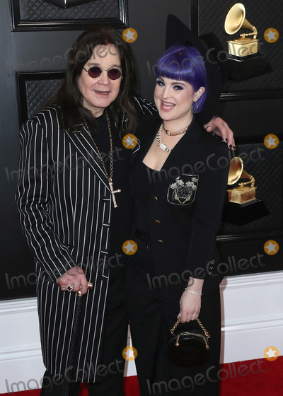 Ozzy Osbourne Photo - LOS ANGELES CALIFORNIA USA - JANUARY 26 Ozzy Osbourne and Kelly Osbourne arrive at the 62nd Annual GRAMMY Awards held at Staples Center on January 26 2020 in Los Angeles California United States (Photo by Xavier CollinImage Press Agency)