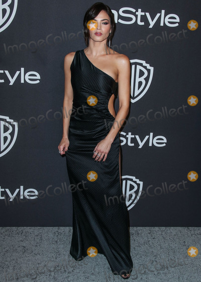 Jenna Dewan Photo - BEVERLY HILLS LOS ANGELES CA USA - JANUARY 06 Actress Jenna Dewan wearing an Azzaro gown Giuseppe Zanotti heels and Norman Silverman jewelry arrives at the 2019 InStyle And Warner Bros Pictures Golden Globe Awards After Party held at The Beverly Hilton Hotel on January 6 2019 in Beverly Hills Los Angeles California United States (Photo by Xavier CollinImage Press Agency)