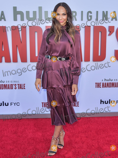 Amanda Brugel Photo - WESTWOOD LOS ANGELES CALIFORNIA USA - AUGUST 06 Actress Amanda Brugel arrives at Hulus The Handmaids Tale Season 3 Finale Celebration held at Regency Village Theatre on August 6 2019 in Westwood Los Angeles California United States (Photo by Image Press Agency)