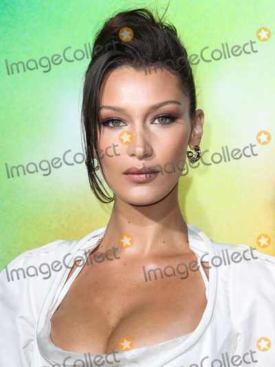 Andreas Kronthaler Photo - (FILE) Bella Hadid Is the Worlds Most Beautiful Woman According to Science Bella Hadid is the most beautiful woman in the world according to the Golden Ratio equation devised in Ancient Greece BROOKLYN NEW YORK CITY NEW YORK USA - SEPTEMBER 09 Model Bella Hadid (Isabella Khair Hadid) wearing an Andreas Kronthaler for Vivienne Westwood outfit with Le Silla shoes arrives at The Business Of Fashion Celebrates the BoF500 2018 held at the 1 Hotel Brooklyn Bridge on September 9 2018 in Brooklyn New York City New York United States (Photo by Xavier CollinImage Press Agency)