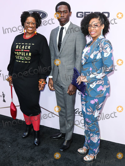 Angela Lewis Photo - BEVERLY HILLS LOS ANGELES CALIFORNIA USA - FEBRUARY 06 Michael Hyatt Damson Idris and Angela Lewis arrive at the 2020 13th Annual ESSENCE Black Women in Hollywood Awards Luncheon held at the Beverly Wilshire A Four Seasons Hotel on February 6 2020 in Beverly Hills Los Angeles California United States (Photo by Xavier CollinImage Press Agency)