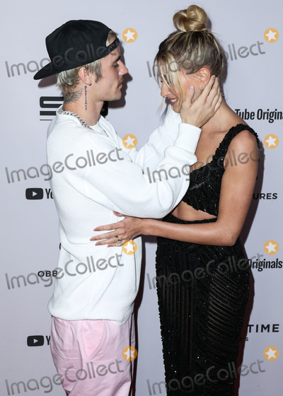 Justin Bieber Photo - WESTWOOD LOS ANGELES CALIFORNIA USA - JANUARY 27 Singer Justin Bieber and wifemodel Hailey Rhode Baldwin Bieber arrives at the Los Angeles Premiere Of YouTube Originals Justin Bieber Seasons held at the Regency Bruin Theatre on January 27 2020 in Westwood Los Angeles California United States (Photo by Xavier CollinImage Press Agency)