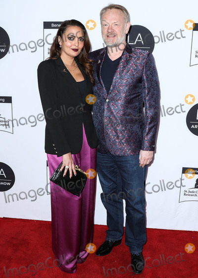 Allegra Riggio Photo - LOS ANGELES CALIFORNIA USA - FEBRUARY 05 Allegra Riggio and Jared Harris arrive at the Los Angeles Art Show 2020 Opening Night Gala held at the Los Angeles Convention Center on February 5 2020 in Los Angeles California United States (Photo by Xavier CollinImage Press Agency)