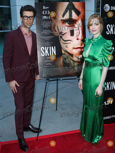 Jaime Ray Newman Photo - HOLLYWOOD LOS ANGELES CALIFORNIA USA - JULY 11 Guy Nattiv and Jaime Ray Newman arrive at the Los Angeles Special Screening Of A24s Skin held at ArcLight Hollywood on July 11 2019 in Hollywood Los Angeles California United States (Photo by Xavier CollinImage Press Agency)