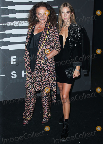 Diane Von Furstenberg Photo - BROOKLYN NEW YORK CITY NEW YORK USA - SEPTEMBER 10 Diane von Furstenberg and Talita von Furstenberg arrive at the Savage X Fenty Show Presented By Amazon Prime Video held at Barclays Center on September 10 2019 in Brooklyn New York City New York United States (Photo by Xavier CollinImage Press Agency)