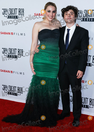 Austin Zajur Photo - HOLLYWOOD LOS ANGELES CALIFORNIA USA - OCTOBER 14 Harley Quinn Smith and Austin Zajur arrive at the Los Angeles Premiere Of Saban Films Jay and Silent Bob Reboot held at the TCL Chinese Theatre IMAX on October 14 2019 in Hollywood Los Angeles California United States (Photo by David AcostaImage Press Agency)