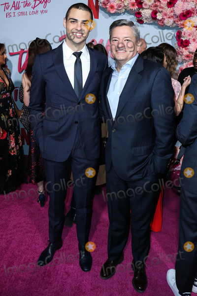 Noah Centineo Photo - HOLLYWOOD LOS ANGELES CALIFORNIA USA - FEBRUARY 03 Actor Noah Centineo and Netflix Chief Content Officer Ted Sarandos arrive at the Los Angeles Premiere Of Netflixs To All The Boys PS I Still Love You held at the Egyptian Theatre on February 3 2020 in Hollywood Los Angeles California United States (Photo by Xavier CollinImage Press Agency)