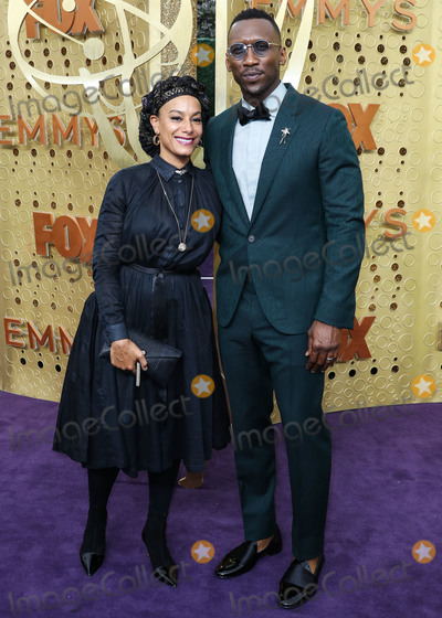 Mahershala Ali Photo - LOS ANGELES CALIFORNIA USA - SEPTEMBER 22 Amatus Sami-Karim and Mahershala Ali arrive at the 71st Annual Primetime Emmy Awards held at Microsoft Theater LA Live on September 22 2019 in Los Angeles California United States (Photo by Xavier CollinImage Press Agency)