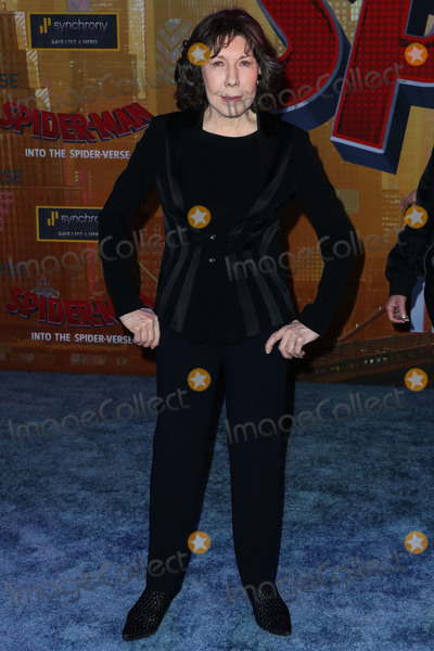Lily Tomlin Photo - WESTWOOD LOS ANGELES CA USA - DECEMBER 01 Actress Lily Tomlin arrives at the World Premiere Of Sony Pictures Animation And Marvels Spider-Man Into The Spider-Verse held at the Regency Village Theatre on December 1 2018 in Westwood Los Angeles California United States (Photo by Xavier CollinImage Press Agency)