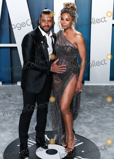Ciara Photo - BEVERLY HILLS LOS ANGELES CALIFORNIA USA - FEBRUARY 09 Russell Wilson and Ciara arrive at the 2020 Vanity Fair Oscar Party held at the Wallis Annenberg Center for the Performing Arts on February 9 2020 in Beverly Hills Los Angeles California United States (Photo by Xavier CollinImage Press Agency)