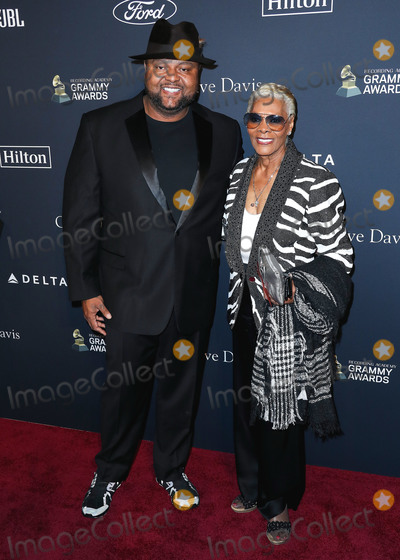 Clive Davis Photo - BEVERLY HILLS LOS ANGELES CALIFORNIA USA - JANUARY 25 Damon Elliott and Dionne Warwick arrives at The Recording Academy And Clive Davis 2020 Pre-GRAMMY Gala held at The Beverly Hilton Hotel on January 25 2020 in Beverly Hills Los Angeles California United States (Photo by Xavier CollinImage Press Agency)