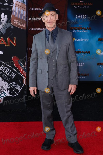 JK Simmons Photo - HOLLYWOOD LOS ANGELES CALIFORNIA USA - JUNE 26 JK Simmons arrives at the Premiere Of Sony Pictures Spider-Man Far From Home held at the TCL Chinese Theatre IMAX on June 26 2019 in Hollywood Los Angeles California United States (Photo by David AcostaImage Press Agency)