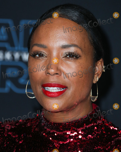 Aisha Tyler Photo - HOLLYWOOD LOS ANGELES CALIFORNIA USA - DECEMBER 16 Aisha Tyler arrives at the World Premiere Of Disneys Star Wars The Rise Of Skywalker held at the El Capitan Theatre on December 16 2019 in Hollywood Los Angeles California United States (Photo by Xavier CollinImage Press Agency)