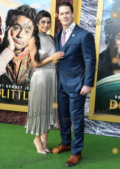 Shay Photo - WESTWOOD LOS ANGELES CALIFORNIA USA - JANUARY 11 Shay Shariatzadeh and John Cena arrive at the Los Angeles Premiere Of Universal Pictures Dolittle held at the Regency Village Theatre on January 11 2020 in Westwood Los Angeles California United States (Photo by Xavier CollinImage Press Agency)
