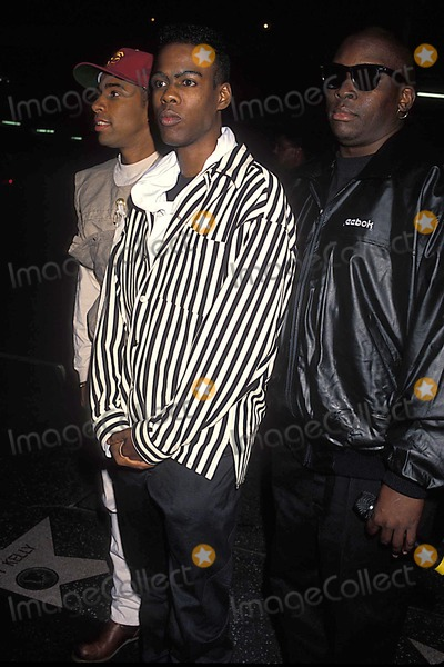 Allen Payne Photo - Photo Michael Ferguson-Globe Photos Inc 1993 Chris Rock Allen Payne Deezer D