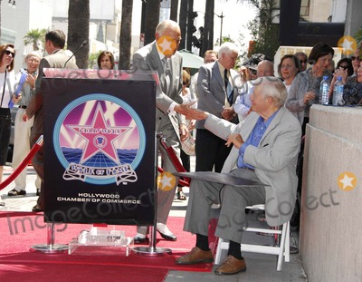 AC Lyles Photo - Ac Lyles and Charles Champlin During a Ceremony Honoring Film Critic Charles Champlin with a Star on the Hollywood Walk of Fame on August 3 2007 in Los Angeles Photo by Michael Germana-Globe Photosinc
