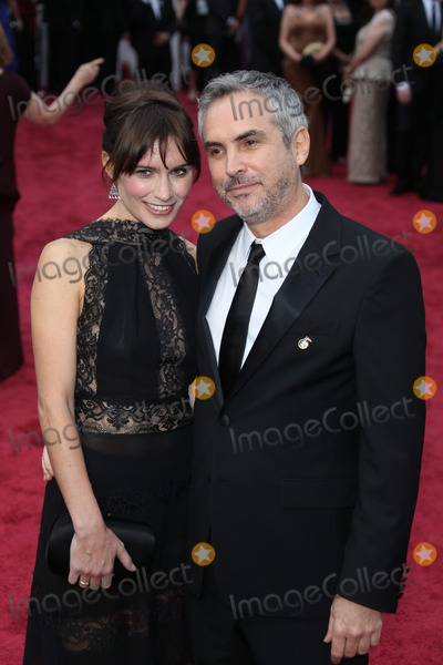 Sheherazade Goldsmith Photo - Director Alfonso Cuaron and Sheherazade Goldsmith Attend the 86th Academy Awards Aka Oscars at Dolby Theatre in Los Angeles USA on 02 March 2014 Photo Alec Michael Photo by Alec Michael-Globe Photos Inc