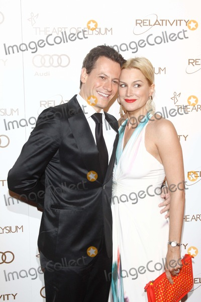 Alice Evans Photo - Actors Alice Evans and Ioan Gruffudd (L) Attend the Art of Elysiums 5th Annual Heaven Gala in Historic Union Station in Los Angeles USA on 14 January 2012 Photo Alec Michael
