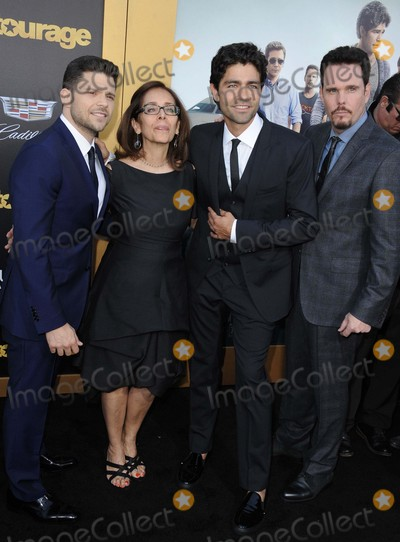 Adrien Grenier Photo - Jerry Ferrara Adrien Grenier Kevin Dillon attending the Los Angeles Premiere of Entourage Held at the Regency Village Theater in Westwood California on June 1 2015 Photo by D Long- Globe Photos Inc