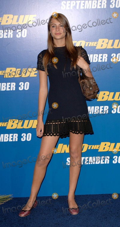Willa Holland Photo - Into the Blue Prmiere Held at Mann Village in Westwood CA 9212005 Photo by Fitzroy Barrett  Globe Photos Inc 2005 Willa Holland