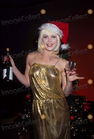 Ann Jillian Photo - Ann Jillian at Christmas Party 1983 12974 Photo by Allan S Adler-ipol-Globe Photos Inc
