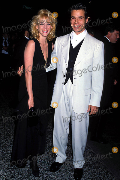 Antonio Sabato Jr Photo - Photo Lisa Rose-Globe Photos Inc 1993 Virginia Madsen and Antonio Sabato Jr