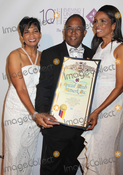 Areva Martin Photo - Special Needs Network 10th Annual Evening Under the Stars Gala Sony Pictures Studios Culver City CA 10032015 Bonnie Berry Lamon Esq Areva Martin Esq and Mark Ridley-thomas Clinton H Wallacephotomundo InternationalGlobe Photos Inc
