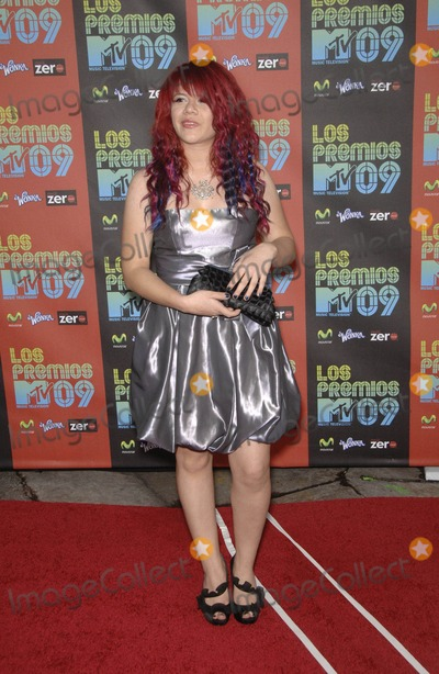 Allison Iraheta Photo - Allison Iraheta During the Los Premios Mtv Latin America 2009 Event Held at the Gibson Amphitheater on October 15 2009 in Los Angeles Photo by Michael Germana - Globe Photos Inc K63430mge