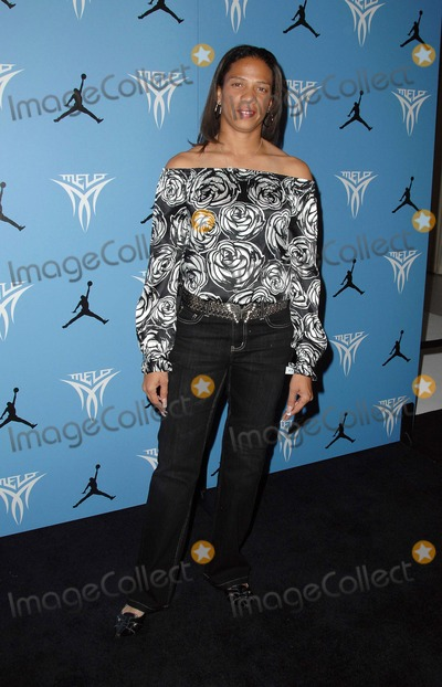 April Holmes Photo - Official Launch Event of the Jordan Melo M5 at Siren Studios in Hollywood CA 11-20-2008 Image April Holmes Photo Scott Kirkland  Globe Photos