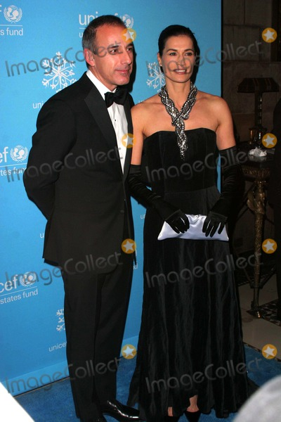 Annette Lauer Photo - Unicef Snowflake Ball Cipriani 42nd Street-nyc-12308 Matt Lauer Annette Lauer Photo by John B Zissel-ipol-Globe Photos Inc2008