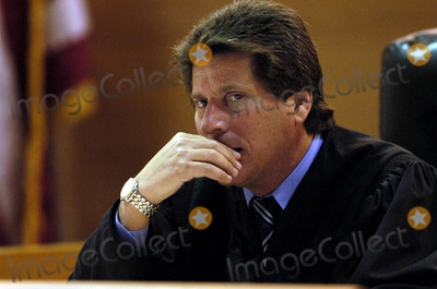 Bonnie Lee Bakley Photo - 060434ME0226blake10MJC -- Los Angeles County Superior Court Judge Lloyd M Nash considers the admissibility of a secret tape recording made by Bonny Lee Bakley during Robert Blakes preliminary hearing at the Van Nuys Courthouse on Wednesday He allowed the tape to be played POOL PHOTOGLOBE PHOTOS INCK2929702272003