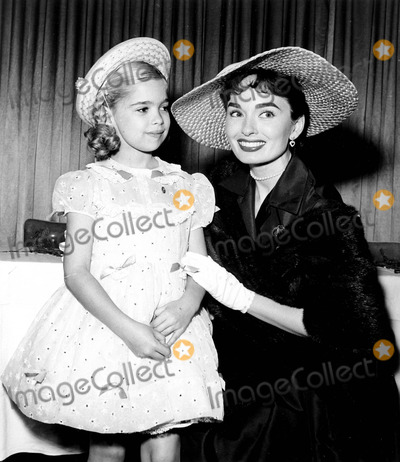 Ann Blyth Photo - Evelyn Rudie and Ann Blyth at St Joseph Hospital Benefit Luncheon Photo ByGlobe Photos Inc