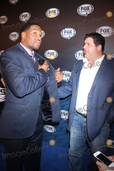 Tony Siragusa Photo - Michael Strahantony Siragusa at Fox Sports Media Group Celebrates Its Inaugural Upfront Presentation and the Announcement of Fox Sports 1 at Roseland W53st 3-5-2013 John BarrettGlobe Photo
