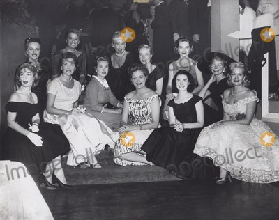 Audrey Totter Photo - Mona Freeman Left to Right Bottom  Maggie Hayes Nanette Febray  Mona Freeman  Jean Hagen  Margaret Obrien  Marilyn Maxwell Left to Right Top  Mary Costa  Jeff Donnell  Marguerite Chapman  Audrey Totter  Dorothy Mcguire and Diana Lynn B360-1c Supplied by Globe Photos Inc