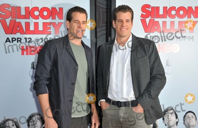 Cameron Winklevoss Photo - Tyler Winklevoss Cameron Winklevoss attending the Los Angeles Premiere of  Silicon Valley Held at the El Capitan Theatre in Hollywood California on April 2 2015 Photo by D Long- Globe Photos Inc