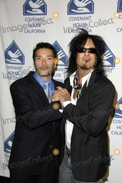 Nikki Sixx Photo - Benito Martinez and Nikki Sixx During the Covenant House Eight Annual Covenant with Youth Awards Gala Held at the Beverly Hilton Hotel on 04-26-2007 in Beverly Hills California Photo by Michael Germana-Globe Photos