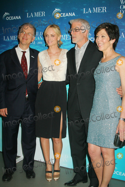 Andrew Sharpless Photo - LA Mer and Oceana Celebrate World Ocean Day 2008 Rockefeller Center New York City 06-04-2008 Photo by Mitchell Levy-Globe Photos Inc Andrew Sharpless with Amber Valletta  Ted Danson and Maureen Case