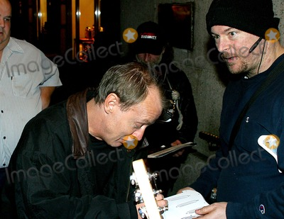 Angus Young Photo - Out and About in New York City 03162003 Photo by Rick MacklerrangefinderGlobe Photos Inc 2003 Angus Young of Acdc