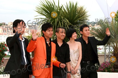 Lou Ye Photo - Wu Wei Chen Sicheng Lou Ye Tan Zhuo  Qin Hao Actors  Director Spring Fever Photo Call at the 2009 Cannes Film Festival at Palais Des Festival Cannes France 05-14-2009 Photo by David Gadd Allstar--Globe Photos Inc 2009
