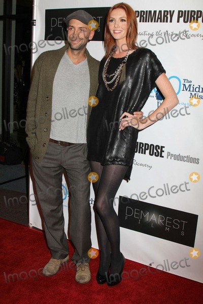 AMANDA FIELD Photo - a Trilogy of Recovery the Premiere of Three Short Films From Primary Purpose Productions to Benefit the Midnight Mission Writers Guild Theater Beverly Hills CA 09282012 Amanda Fields and Brian Bennett Photo Clinton H Wallace-photomundo-Globe Photos Inc