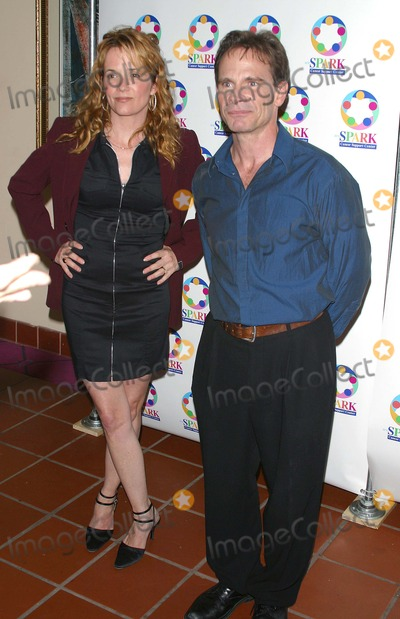 Lea Thompson Photo - We Sparkle Night - Take Ii - a Benefit For We Spark Cancer Support Center the El Portal Theater North Hollywood CA 04072003 Photo by Milan Ryba  Globe Photos Inc 2003 Lea Thompson and Peter Scolari