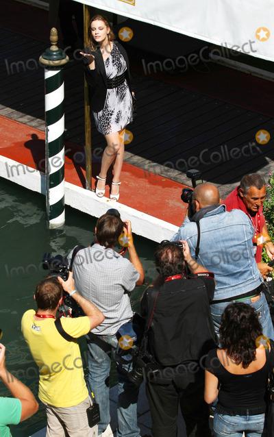 Carolina Bang Photo - Carolina Bang Actress Guests Departing at Lido - the 67th Venice Film Festival in Venice Italy 09-09-2010 Photo by Graham Whitby Boot-allstar-Globe Photos Inc