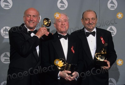 Mike Stoller Photo - Mike Stoller with Jerry Leiber and Arif Mardin at 1996 Grammy Awards Los Angeles Ca L4043lr Photo by Lisa Rose-Globe Photos Inc