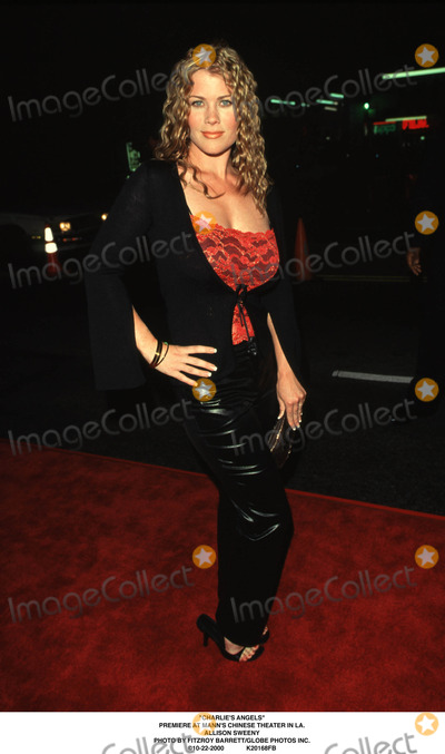 Allison Sweeny Photo - charlies Angels Premiere at Manns Chinese Theater in LA Allison Sweeny Photo by Fitzroy BarrettGlobe Photos Inc 10-22-2000